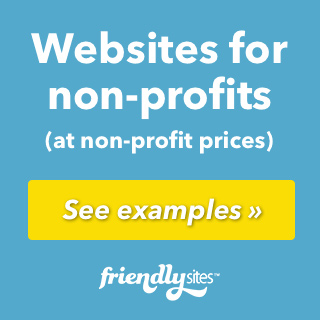 Non-profit websites advertisement