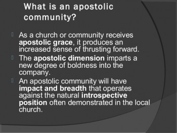 "Should Modern Day Apostles Use the Title ""Apostle?"""