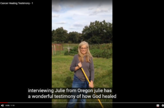 God Healed Julie Cano from Breast Cancer