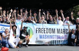 Freedom March: 200 Ex LGBT Proclaim Freedom in Christ